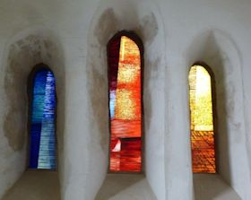 Trinity tained Glass Windows